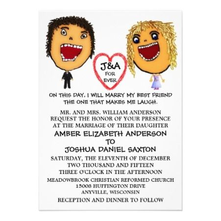 Funny Wedding Invitation Wording For Friends