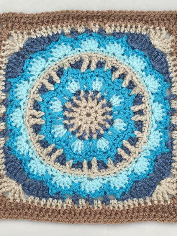 Tiptree Square Free Crochet Pattern | Knitting Crochet | Pinterest