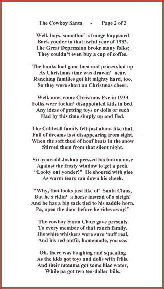 poem-205-the-cowboy-santa-copyrighted-by-stan-paregien-in ...