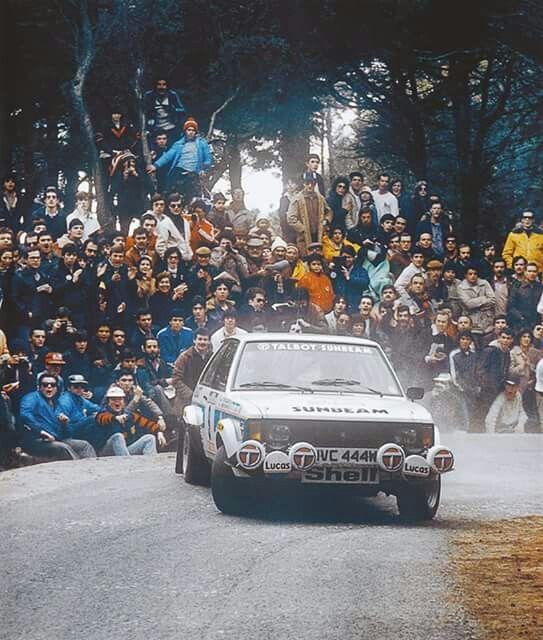 Henri Toivonen - Talbot Sunbean Lotus - Portugal 1981