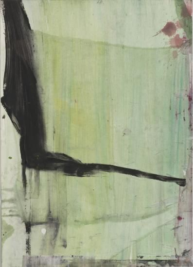 O.T. 2010, 70 x 50 cm Acryl auf Leinwand