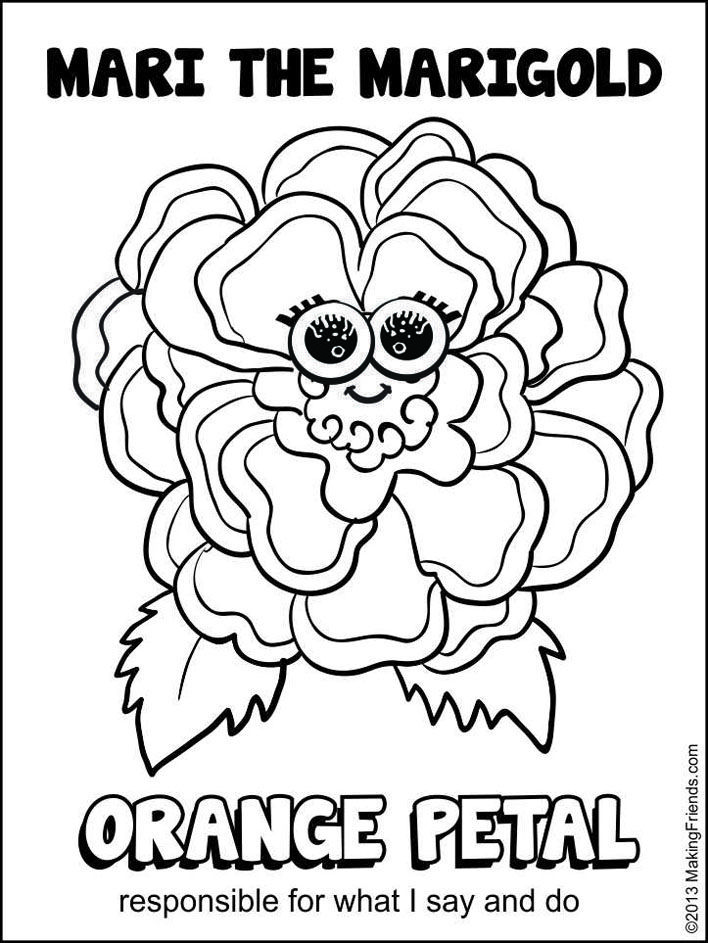 It's just an image of Monster Daisy Scouts Coloring Pages