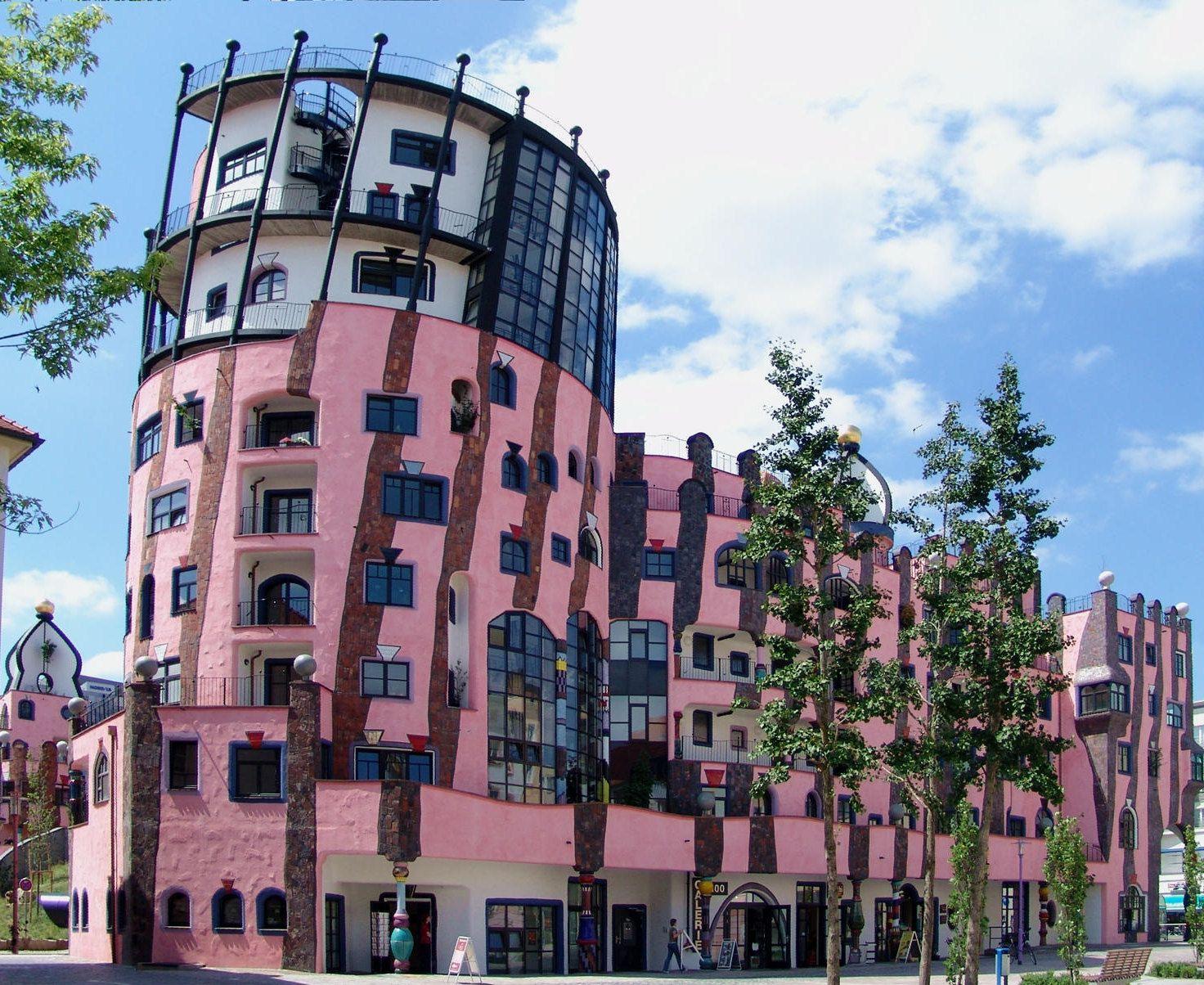 Wien sehensw rdigkeiten hundertwasserhaus google suche for Raumgestaltung anhalt