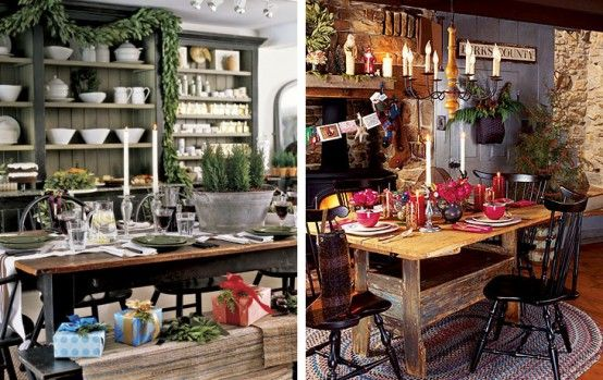 christmas creative and cheerful christmas table decorating ideas concept creative and cheerful christmas table decorating with country style - Country Christmas Table Decorations