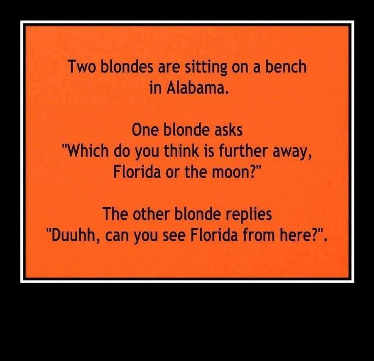 Blonde Jokes Short Dirty