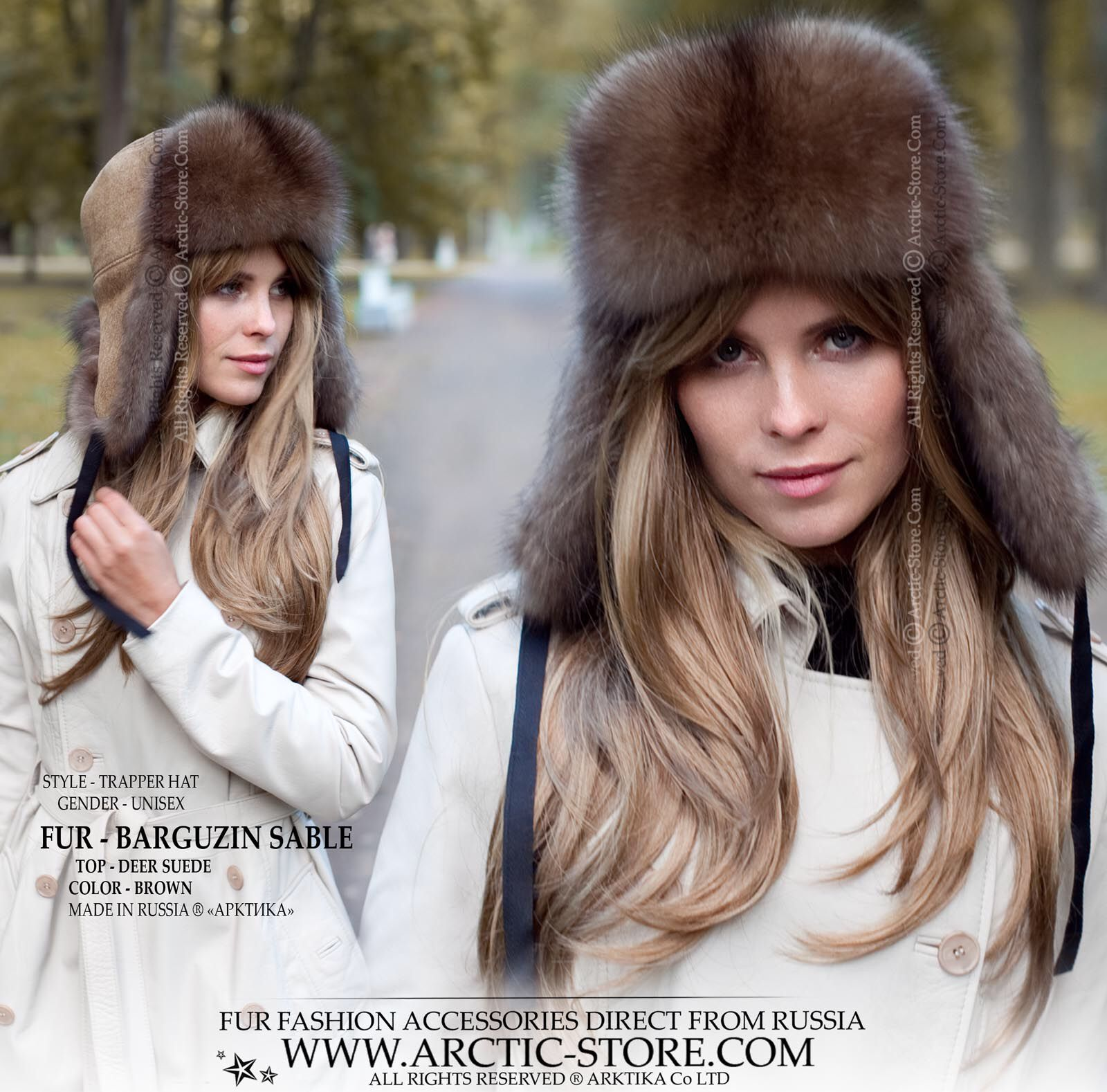 The most luxurious version of any trapper style hat. It s a status symbol  hat with all of the standard functionality. It s not just a purchase b177e1a9c44