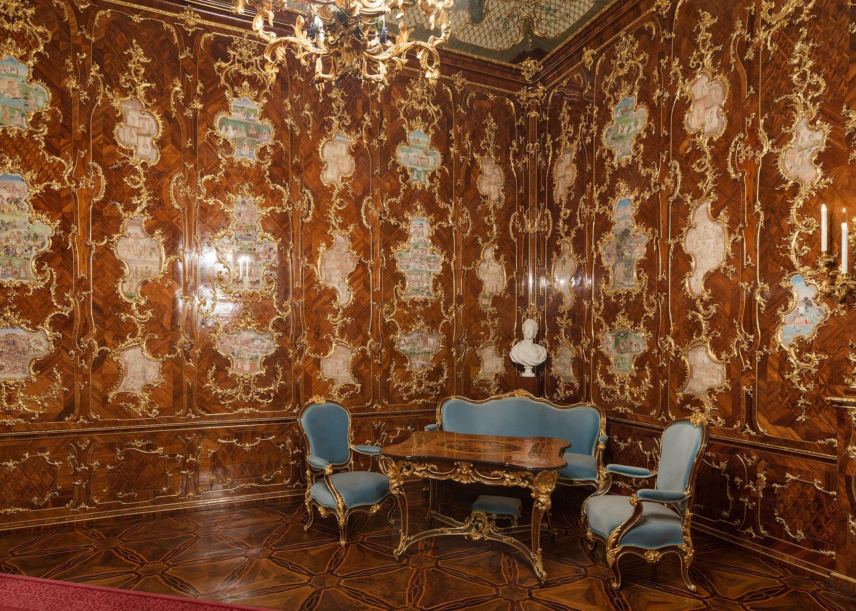 Millions Room Http Www Schoenbrunn At En Wissenswertes Das Schloss Rundgang Durchs Schloss Millionenzimmer Html Palacio De Schonbrunn Palacios Viena
