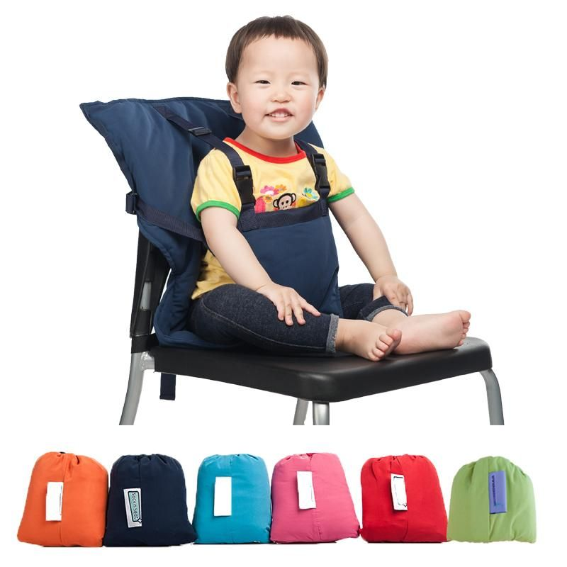 5 Colors Portable Baby Sack Seat Kids Feeding Chair Safety Belt ...