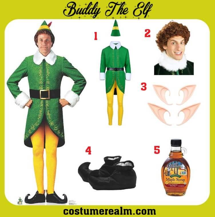 Dress Like Buddy The Elf Costume Guide Buddy The Elf Costume Elf Costume Buddy The Elf