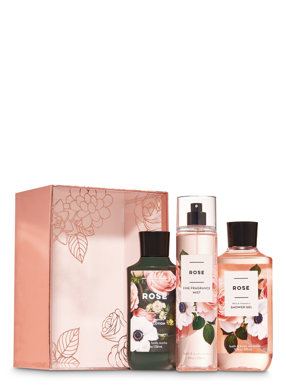 Rose Gift Box Set Bath And Body Works Big Clearancesale 3days Only All 1 99 Bath And Body Works Rose Gift Body Works