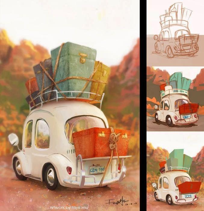 Art of Faye Hsu