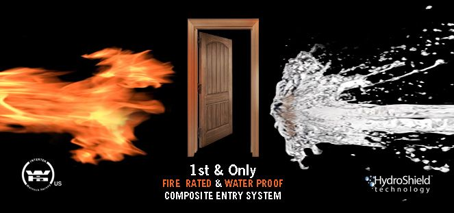 First and Only 100% composite entry system.