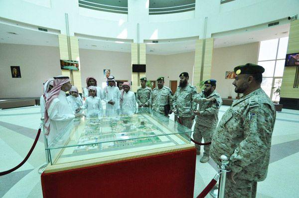 جامعة فهد بن سلطان تستقبل ابناء الشهداء Tabuk