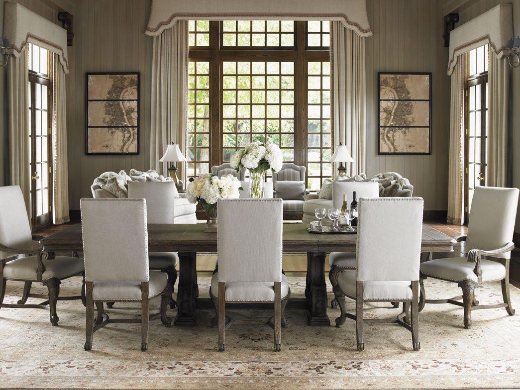 La Tourelle French-inspired Dining Room - Lexington Home Brands ...