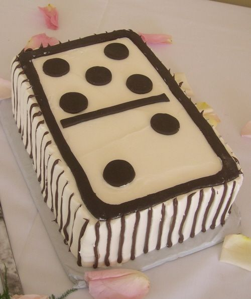 Domino Cake Tortas Pinterest Birthday cakes Cake and Homemade