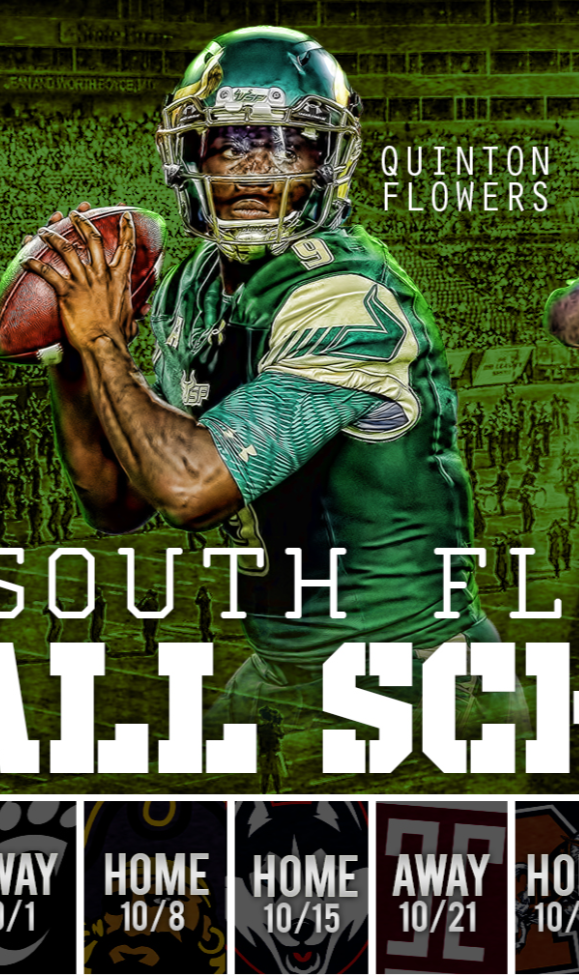 Join Thebullspen Com Download This Free Full Version Wallpaper As A Welcome Gift Http Www T South Florida Bulls Football South Florida Bulls Usf Bulls