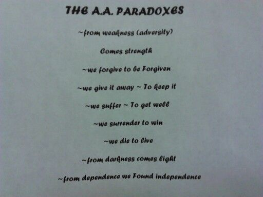Aa Paradoxes Aa Quotes Quotes Paradox