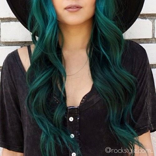 Coloured Hair That Isn\'t Too Bright For Work Or School! Beautiful ...