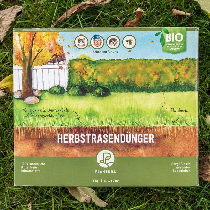 Bio-Herbstrasendünger / Sack / 10,5 kg