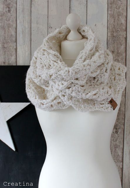 Xxl Loop Häkeln Schal Sockenwolle Pinterest Crochet