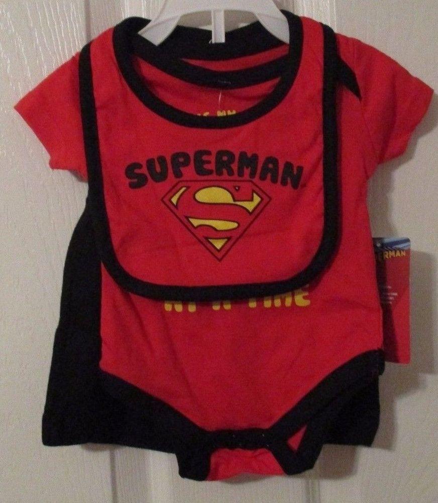 DC Comics Superman 3 Piece Set, 0/3 Months, Saving My Parents, NWT's,  #DCComics #EverydayHoliday