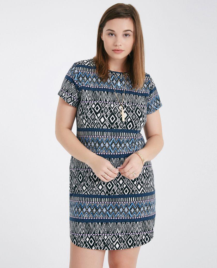 plus size tribal print dress choice image - dresses design ideas