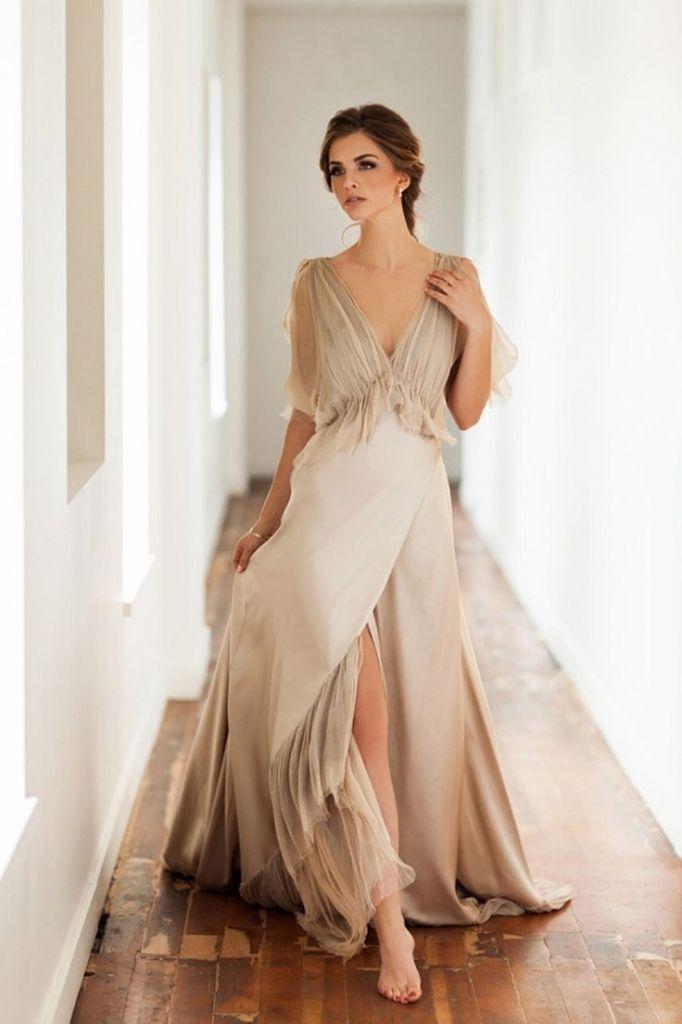 fashion dresses casual wedding dresses not white