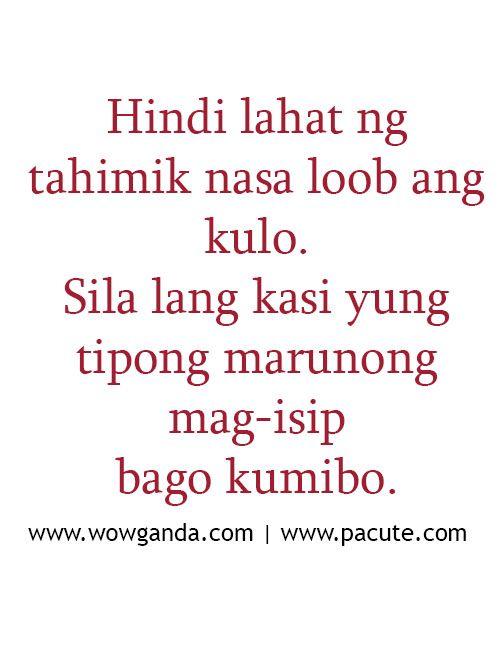 Pinoy Sweet Love Quotes and Tagalog Love Quotes ~ Boy Banat