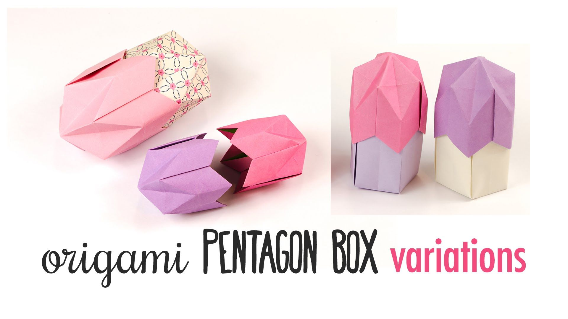Origami 5 sided gift box tutorial diy gift box origami 5 sided gift box tutorial diy gift box paper jeuxipadfo Gallery