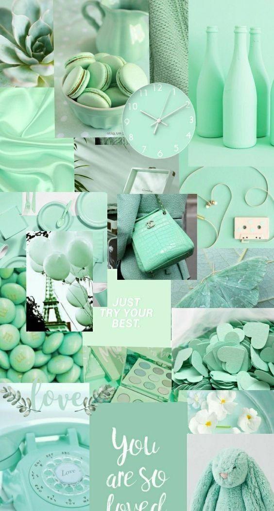 💚  Green wallpaper 💚