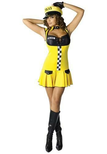 Disfraz Para Mujer Taxi Disfraz Mujer Modelo Mujer Ropa De Moda