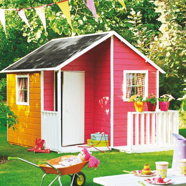 Loulou house for kids castorama maisonette de jardin - Cabane de jardin pour enfants ...