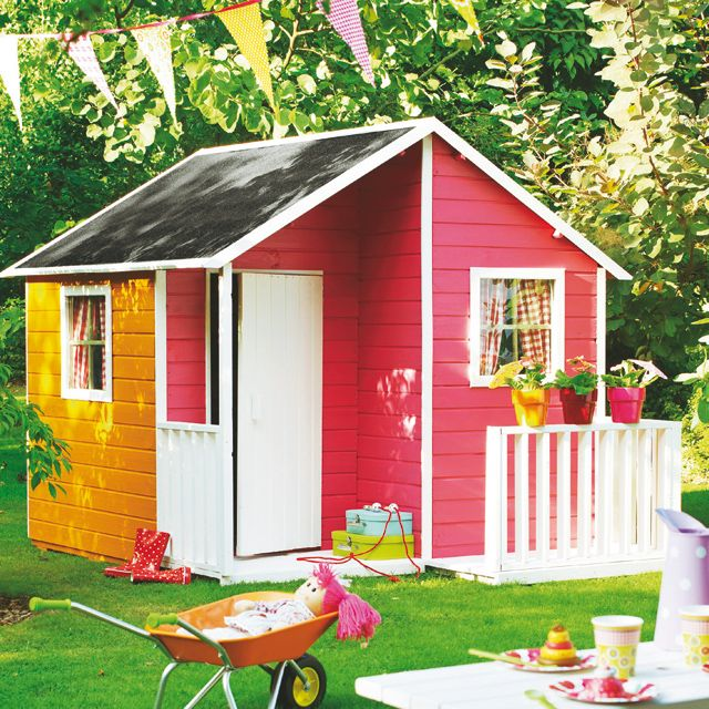 Loulou house for kids castorama maisonette de jardin pinter - Cabane enfant castorama ...
