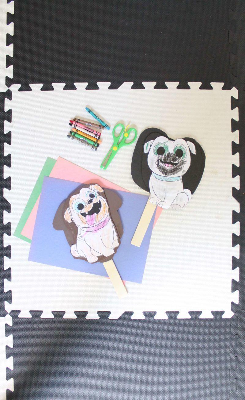 Summer Crafting Disney Junior Puppy Dog Pals Diy Disney Junior Crafts Disney Activities Disney Junior [ 1304 x 800 Pixel ]
