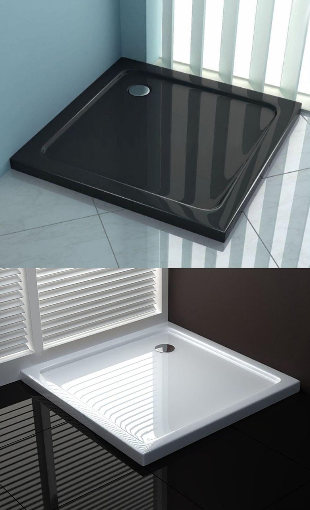 Brodzik Prysznicowy 90x90cm Kwadratowy Rea Perfect Czarny Bialy Home Sheet Pan Kitchen