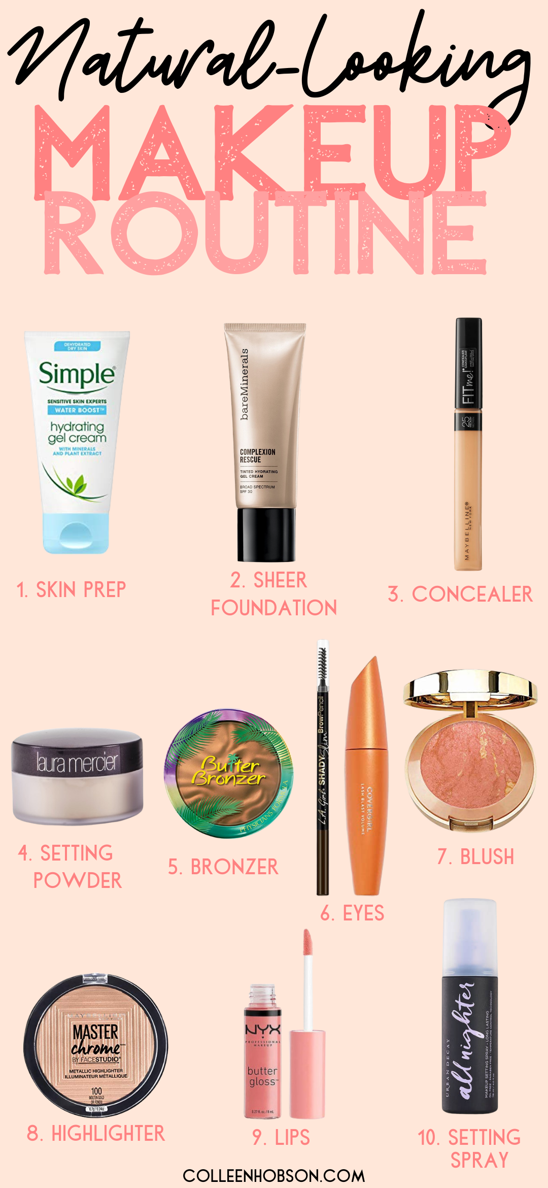 Natural Everyday Makeup Routine Everyday makeup routine