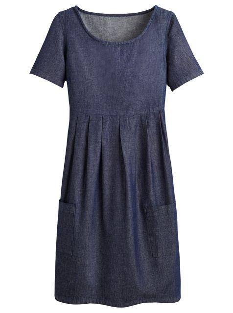 Jean Babydoll Dress