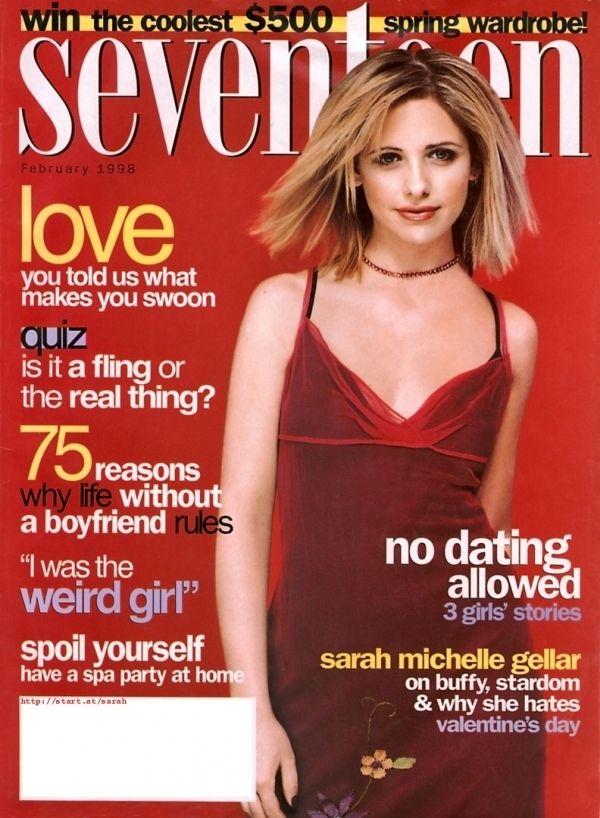 Feb. 1998: Sarah Michelle Gellar made a shocking ...