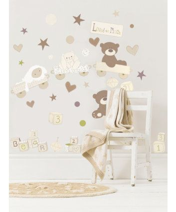Nursery Wall Stickers And Nursery Bunting Mothercare Wall Art