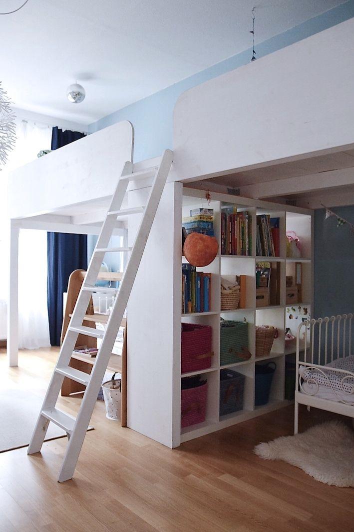auf zwei etagen so wohnt und arbeitet isabell wohnung in 2019 geschwisterzimmer wohnen. Black Bedroom Furniture Sets. Home Design Ideas
