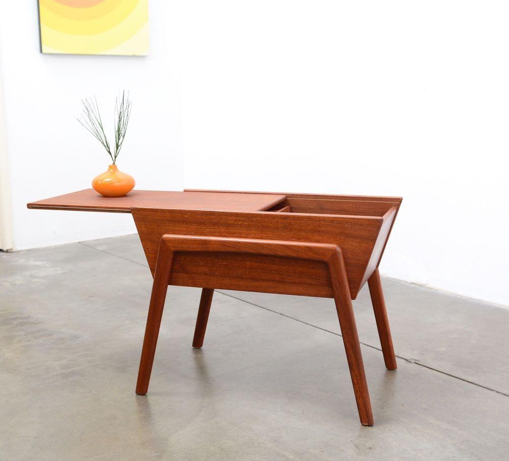 modern retro furniture. 1960s Danish Modern TEAK Storage Table Mid Century Vintage Eames Era Retro Furniture I