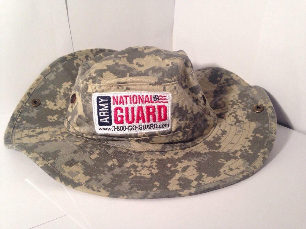 size 40 ebdd3 2b495 ... free shipping army national guard digital camo aussie style bush boonie  hat unbranded booniebush ca4d5 9c0e5