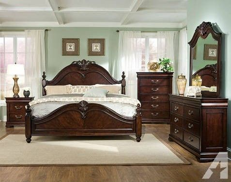 gorgeous king size bedroom set for sale heath texas classified sets ...