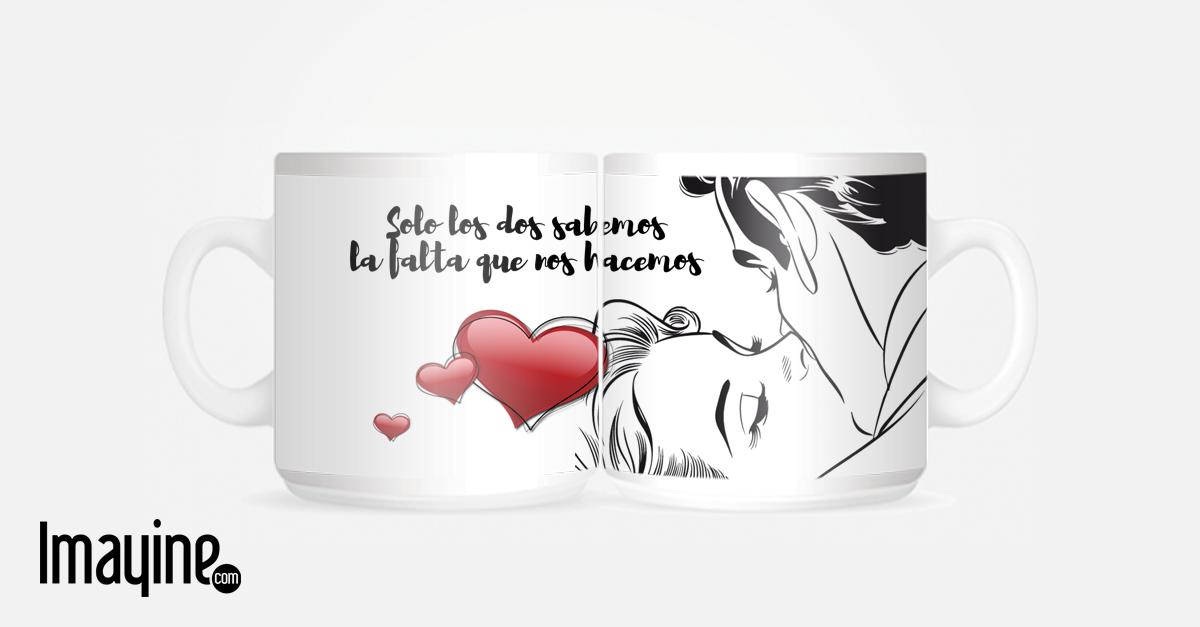 TAZA CON FRASE DE AMOR Frases de amor