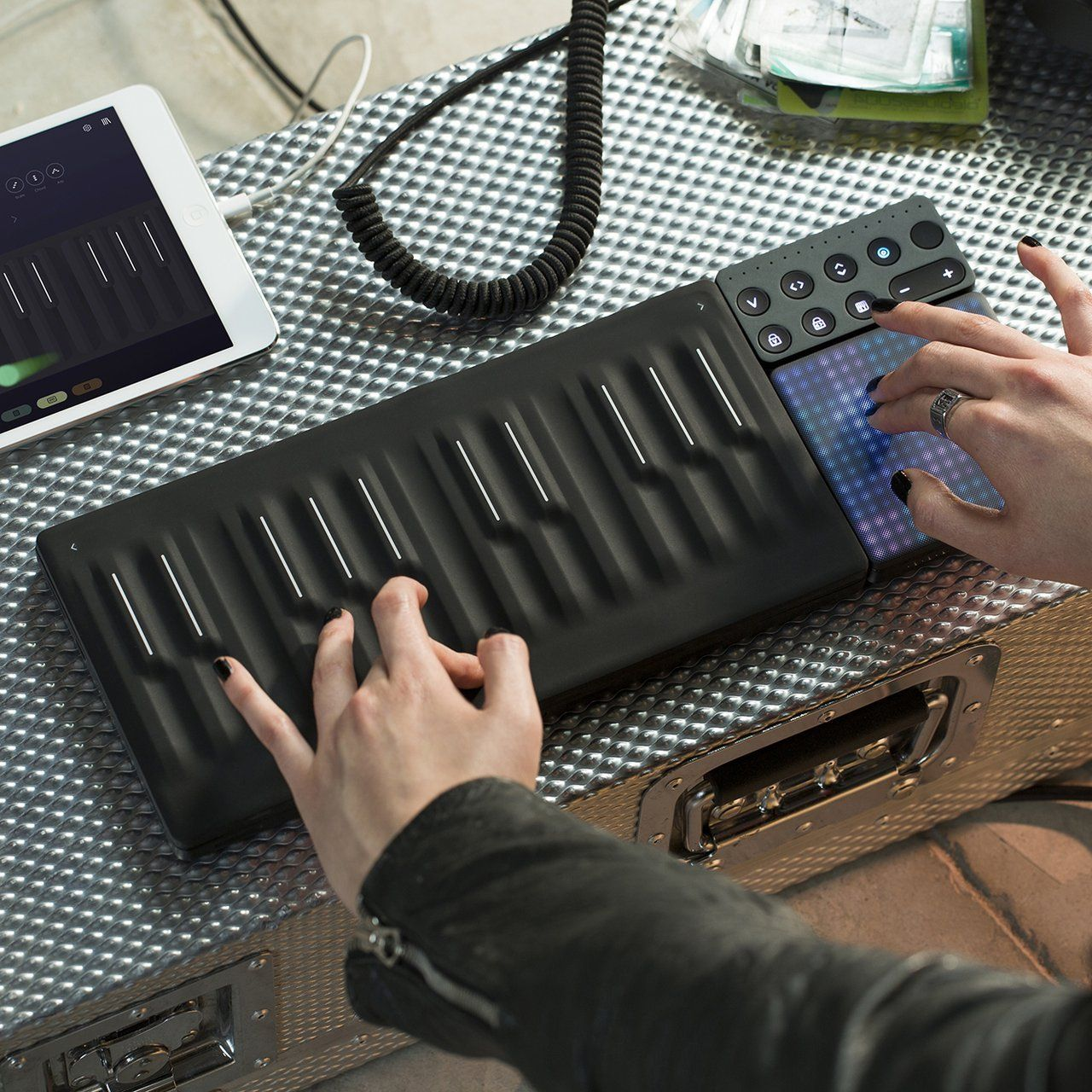 Roli Seaboard Block Petagadget Portable Music Music Keyboard Synthesizer