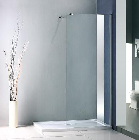 1300MM X 760MM  WETROOM SHOWER SCREEN SHOWER ENCLOSURE AND MX SHOWER TRAY (FREE SHOWER TRAY WASTE)