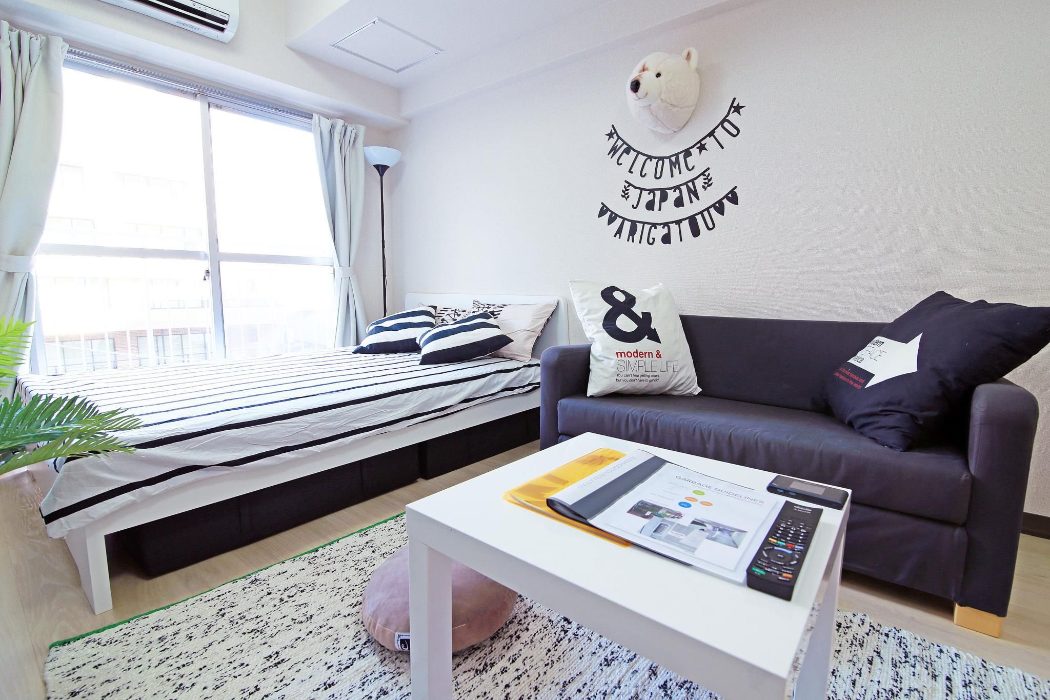 tokyo 1 bedroom apartment in ginza k2 japan asia set in a prime