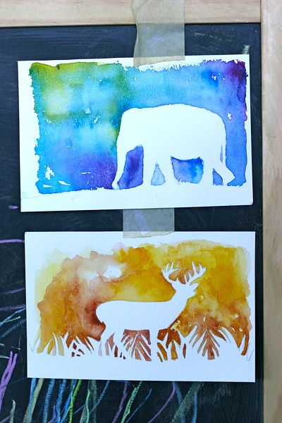 20 Watercolor Inspired Tutorials For The Non Artist Homeschool Art Kids Art Projects Teaching Art