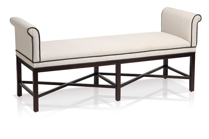 Rolled Arm Bench Seat Home Ideas