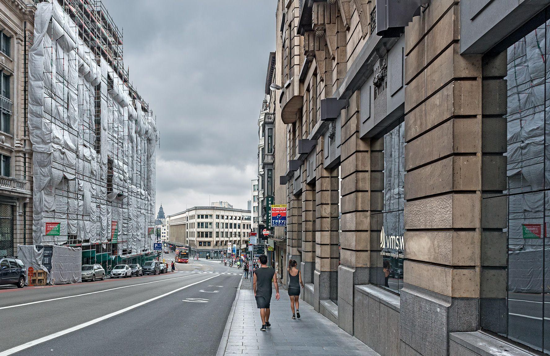 Una fachada
